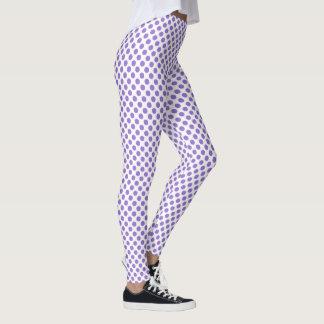 Lilac Bush Polka Dots Leggings