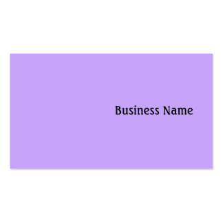 Lilac Business Card Templates