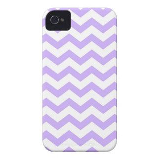 Lilac Chevron Case-Mate iPhone 4 Case