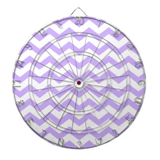 Lilac Chevron Dartboards