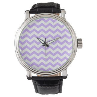Lilac Chevron Watch