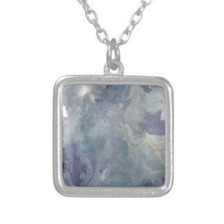 Lilac Chill Silver Plated Necklace