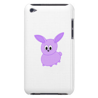 Lilac color bunny. iPod touch cover
