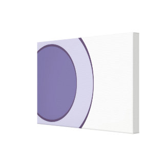 Lilac Dot Canvas Print