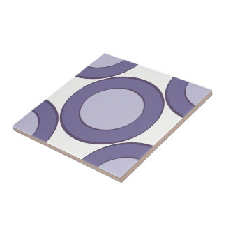 Lilac Dot Ceramic Tile