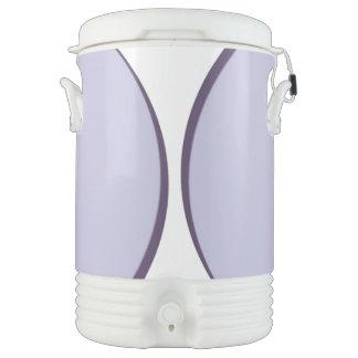 Lilac Dot Drinks Cooler