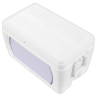 Lilac Dot Ice Chest