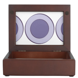 Lilac Dot Keepsake Box