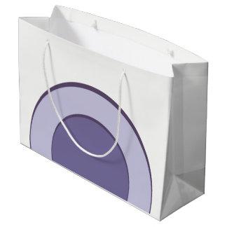Lilac Dot Large Gift Bag
