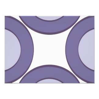 Lilac Dot Photo Print