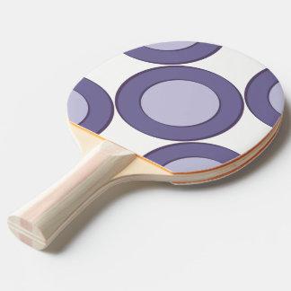Lilac Dot Ping Pong Paddle