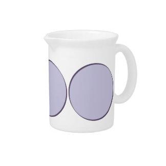 Lilac Dot Pitcher