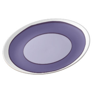 Lilac Dot Plate