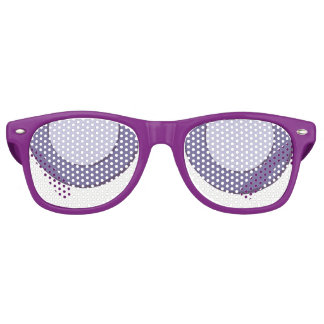 Lilac Dot Retro Sunglasses