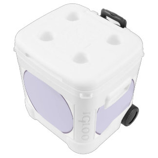 Lilac Dot Rolling Cooler