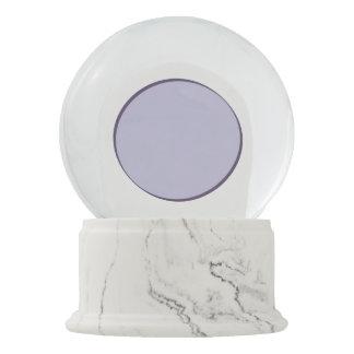 Lilac Dot Snow Globe