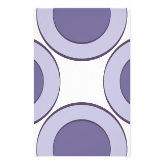 Lilac Dot Stationery