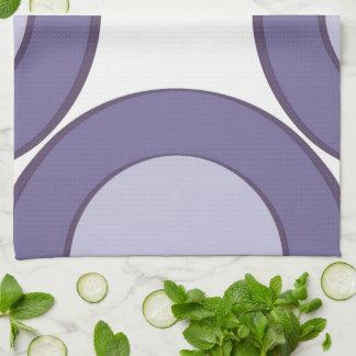 Lilac Dot Tea Towel