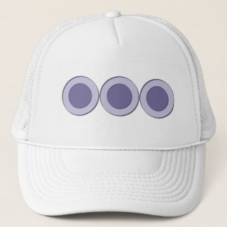 Lilac Dot Trucker Hat