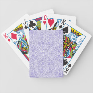 Lilac Elegant flow Bicycle Playing Cards