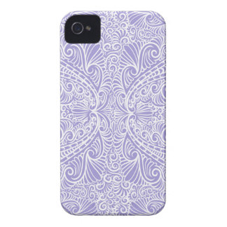 Lilac Elegant flow iPhone 4 Covers