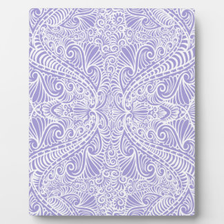Lilac Elegant flow Plaque