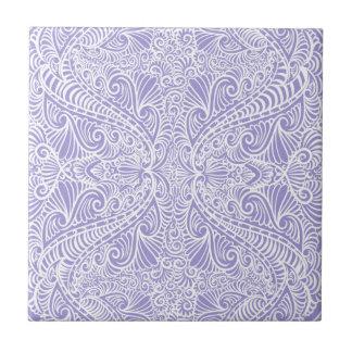 Lilac Elegant flow Tile