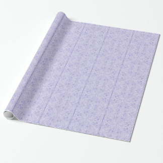Lilac Elegant flow Wrapping Paper