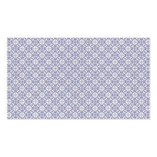 Lilac elegant vintage pattern pack of standard business cards
