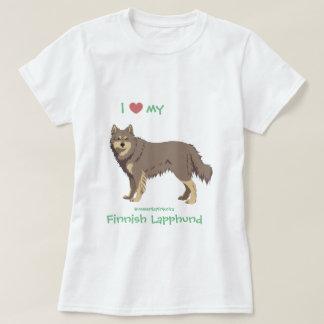 lilac Finnish Lapphund shirt - lapinkoira
