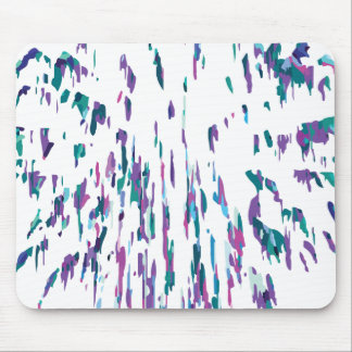 Lilac Firework #2 Mouse Pad