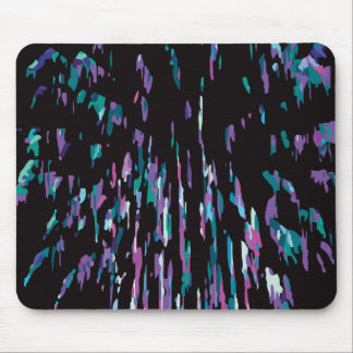 Lilac Firework Mouse Pad