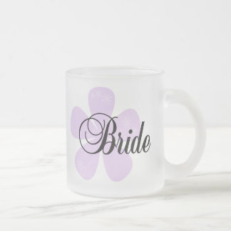 Lilac Flower Bride Coffee Mug