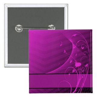 lilac flower Button