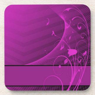 lilac flower Cork Coaster