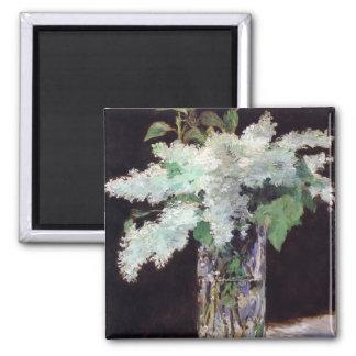 Lilac Flowers Bouquet by Manet Magnet Fridge Magnet