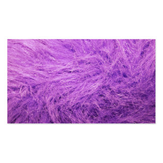 Lilac Fur Double-Sided Standard Business Cards (Pack Of 100)