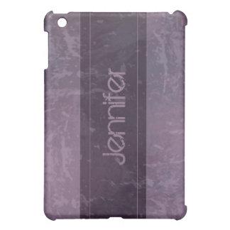 Lilac Grunge Marble Distressed  iPad Mini Covers