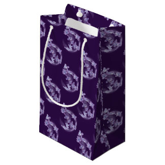 Lilac in circle small gift bag