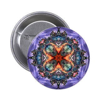 Lilac Jewels 16  Button 2 Inch Round Button