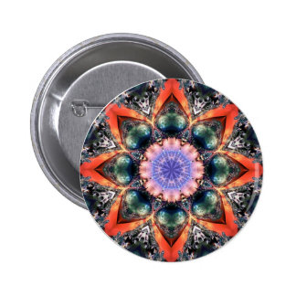 Lilac Jewels 20  Button 2 Inch Round Button