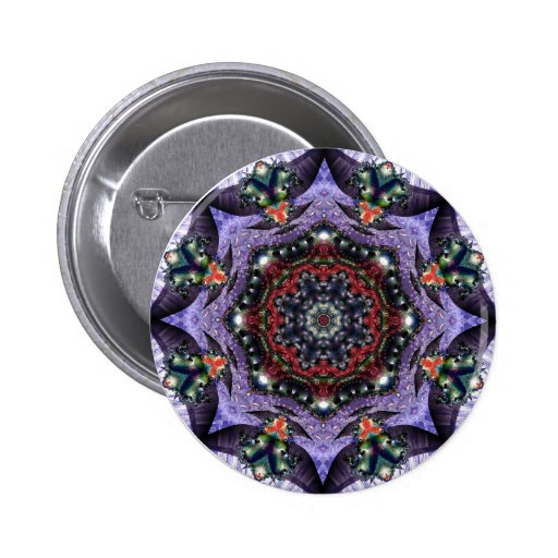 Lilac Jewels 2  Button