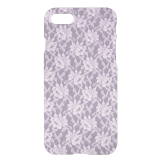 Lilac Lace iPhone 7 Clearly™ Deflector Case