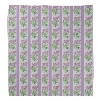 Lilac Lapel Pocket Handkerchief Bandana