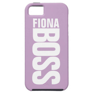 Lilac Manager's Personalized Name iPhone 5 Case