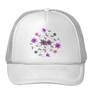 Lilac Plum Spring Flower Garden Hat