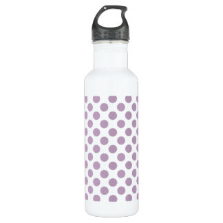 Lilac Polka Dots 710 Ml Water Bottle