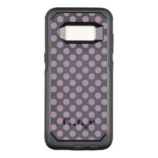 Lilac Polka Dots OtterBox Commuter Samsung Galaxy S8 Case