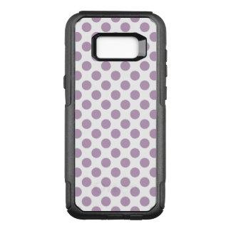 Lilac Polka Dots OtterBox Commuter Samsung Galaxy S8+ Case