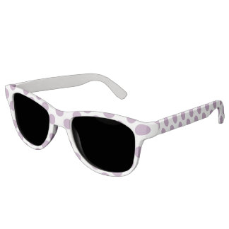 Lilac Polka Dots Sunglasses